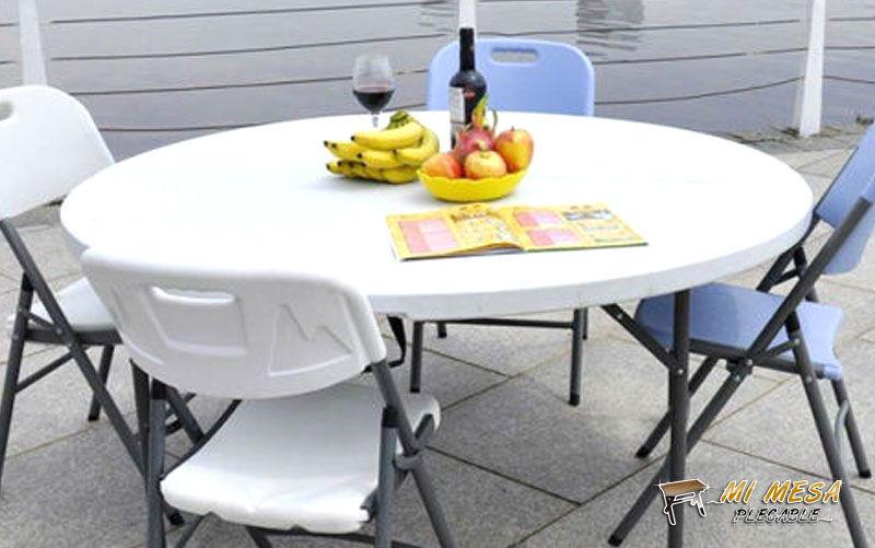 mesa plegable resistente